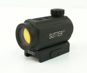 Коллиматорный прицел Sutter 1x22 RD закрытый, быстросъемное крепление
