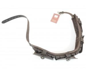 Патронташ Vektor закрытый на 24 патрона 12 калибр, из нат. кожи (П-45)