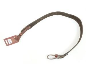 Ремень Vektor для ружья из нат. кожи с узорной растрочкой и подкладкой из велюра (Р-13)