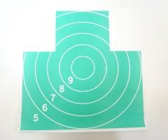 Мишень Remington №4, грудная фигура (500x500 мм) 10 штук