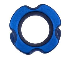 """Пип-сайт алюминиевый 1/4"""" (6,3 мм) синий"""