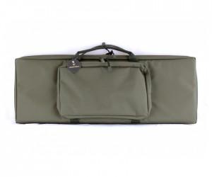 Кейс Vektor из капрона зеленый с крепл. Molle, 2 карманами и отдел. под магазины (А-8-1 з)