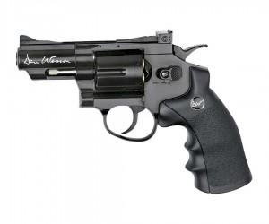 """Страйкбольный револьвер ASG Dan Wesson 2.5"""" Black CO₂ (17175)"""