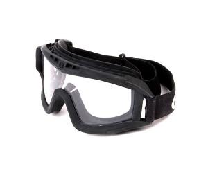 Очки защитные G&G Black, прозрачные линзы