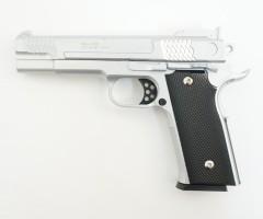 Страйкбольный пистолет Galaxy G.20S (Browning HP) серебристый