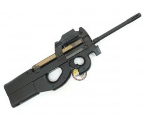 Страйкбольный пистолет-пулемет G&G PDW 99 Long Black (P90 L) TGF-S90-STD-BNB-NCM