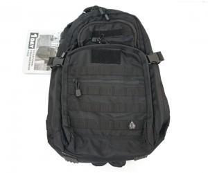 Рюкзак тактический UTG 1-Day Black, внешние карманы, 43x28x19 см (PVC-P124B)
