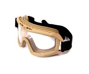Очки защитные G&G Desert Tan, прозрачные линзы