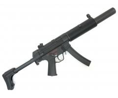 Страйкбольный пистолет-пулемет Cyma H&K MP5 SD6 Blowback (CM.049SD6)
