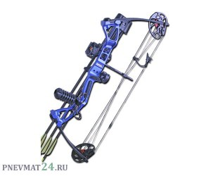 Лук блочный Interloper «Рекс» (Rex), синий