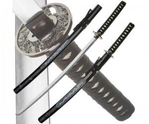 Набор из 2-х самурайских мечей Dark Age JP-608 White Dragon