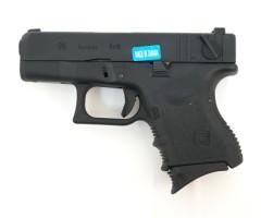 Страйкбольный пистолет WE Glock-26 Gen.3 Black (WE-G005A-BK)