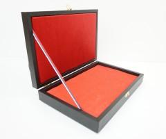 Подарочный кейс-футляр для пистолета универсальный (иск. кожа)