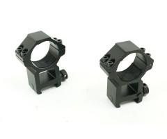Кольца 30 мм быстросъемные на Weaver, высокие (BH-RS33)