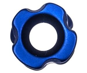"""Пип-сайт алюминиевый 3/16"""" (4,7 мм) синий"""