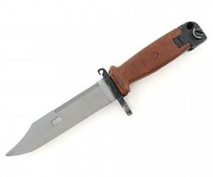 ММГ штык-нож ШНС-001 (АК-74) коричн. ножны и рукоятка