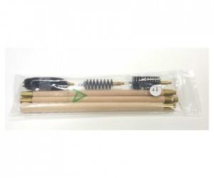 Набор для чистки Nimar полиэтиленовый пакет, калибр 12, шомпол деревянный