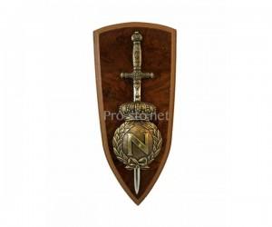 Панно, герб Наполеона и меч (DE-524)