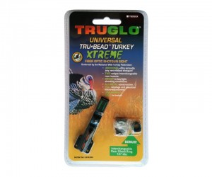 Оптоволоконная мушка Truglo TG950X Ghost, универсальная, на вентилируемую планку, с целиком