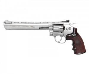 """Страйкбольный револьвер G&G G734 SV (8"""", Silver) (CO2-734-PST-SNB-NCM)"""