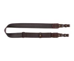 Ремень для ружья Vektor из полиамидной ленты коричневый шириной 40 мм, регулируемой длины
