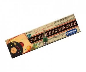 Свечи бенгальские в пакете (6 штук)