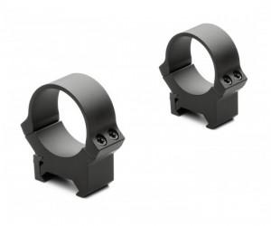 Кольца не быстросъемные PRW 30 мм на Weaver/Picatinny, низкие, матовые, металл