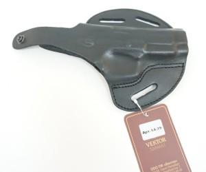 Кобура поясная Vektor из нат. кожи формованная для ПЯ и Glock 19 (14-39)