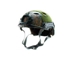 Каска Fast -PJ-Tactical Helmet Simple Version Digital Woodland