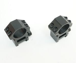 Кольца Leapers AccuShot 25,4 мм на Weaver, высокие (RGWM-25H4)