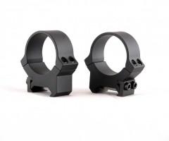 Кольца не быстросъемные PRW 30 мм на Weaver/Picatinny, средние, матовые, металл