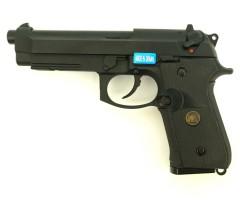 Страйкбольный пистолет WE Beretta M9A1 Rail Black (WE-M008)