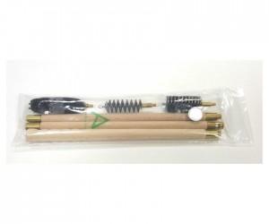 Набор для чистки Nimar полиэтиленовый пакет, калибр 16, шомпол деревянный