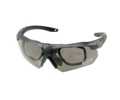 Очки стрелковые Veber Tactic Force L3P2, 3 сменные линзы