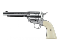 Пневматический револьвер Umarex Colt Single Action Army (SAA) .45 BB Nickel (5,5