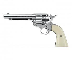 """Пневматический револьвер Umarex Colt Single Action Army (SAA) .45 BB Nickel (5,5"""")"""