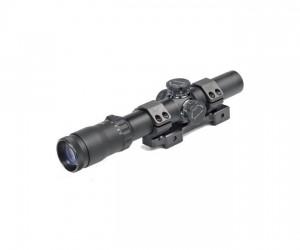 Оптический прицел Dedal DHF 1-7x24, 34 мм, с подсветкой