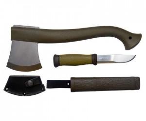Набор (топор + нож) Mora Outdoor Combi (Mora-1-2001)