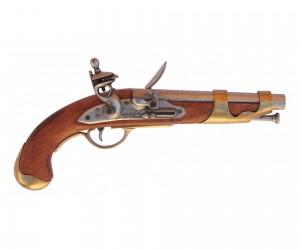 Макет французский кавалерийский пистолет (1800 г.) DE-1011