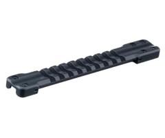 Основание Weaver для установки на вентилируемую планку гладкоствольных ружей. Ширина  7,0-8,1 мм