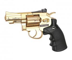 "Пневматический револьвер ASG Dan Wesson 2.5"" Gold"