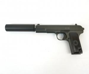 Страйкбольный пистолет Stalker SATTS Spring (ТТ, с глушителем)