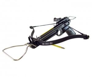 Арбалет-пистолет Man Kung MK-80A3 Wasp (алюминий, стремя)