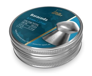 Пули H&N Baracuda 5,5 мм, 1,37 грамм, 200 штук