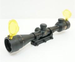 Оптический прицел Nikko Stirling Airking 4x32 AO, Half MD, с подсветкой