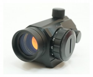 Коллиматорный прицел Target Optic 1x22, закрытый, на Weaver, красная точка