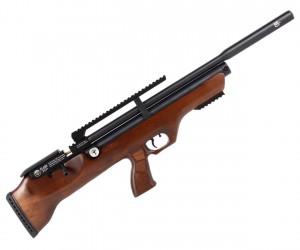 Пневматическая винтовка Hatsan Flashpup-W QE (дерево, PCP, модератор, 3 Дж) 6,35 мм