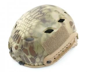 Каска Fast Helmet Kryptek Highlander