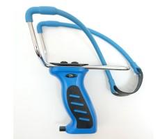 Рогатка Man Kung MK-SL08, с магазином (синяя)