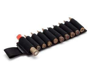 Съёмный патронташ Долг для 10 нарезных патронов (черный)